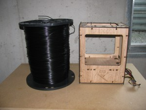 30-lb Black ABS Spool