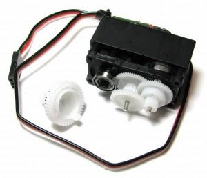 TGY-S4505B servo disassembled