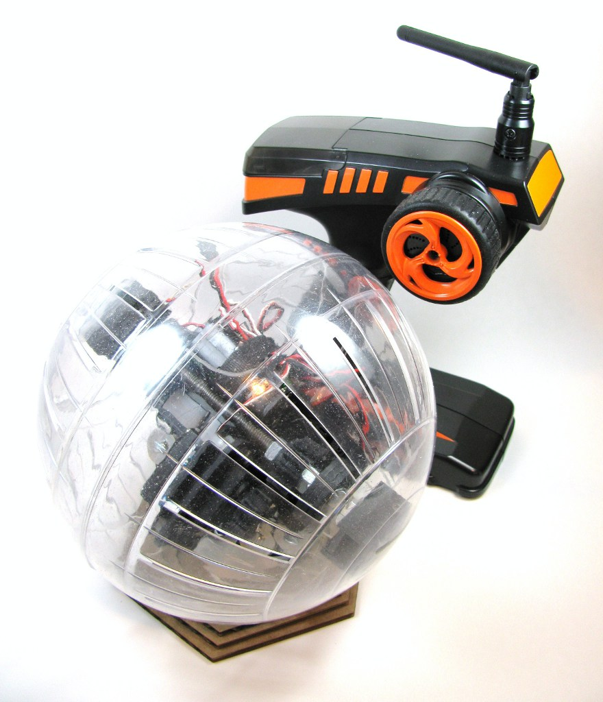 Building an Electic Hamster | Built to Spec Rolling Soccer Ball
