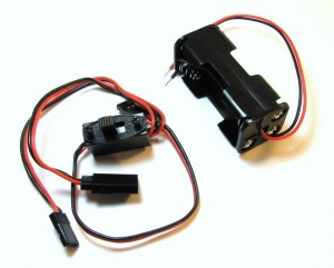 Battery wiring harness components