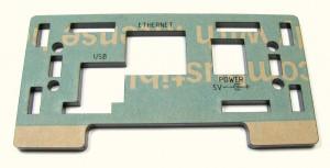laser cut front panel