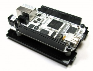 BeagleBone mounted