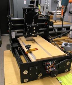 R3 CNC mill