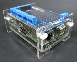 Raspberry Pi Case with Pi Plate