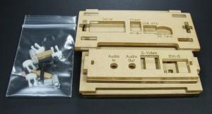 BeagleBoard-xM Case Parts