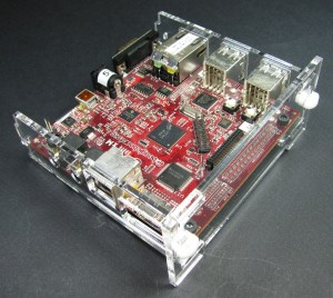 BeagleBoard-xM Case Assembly