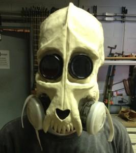 Dog Skull Mask