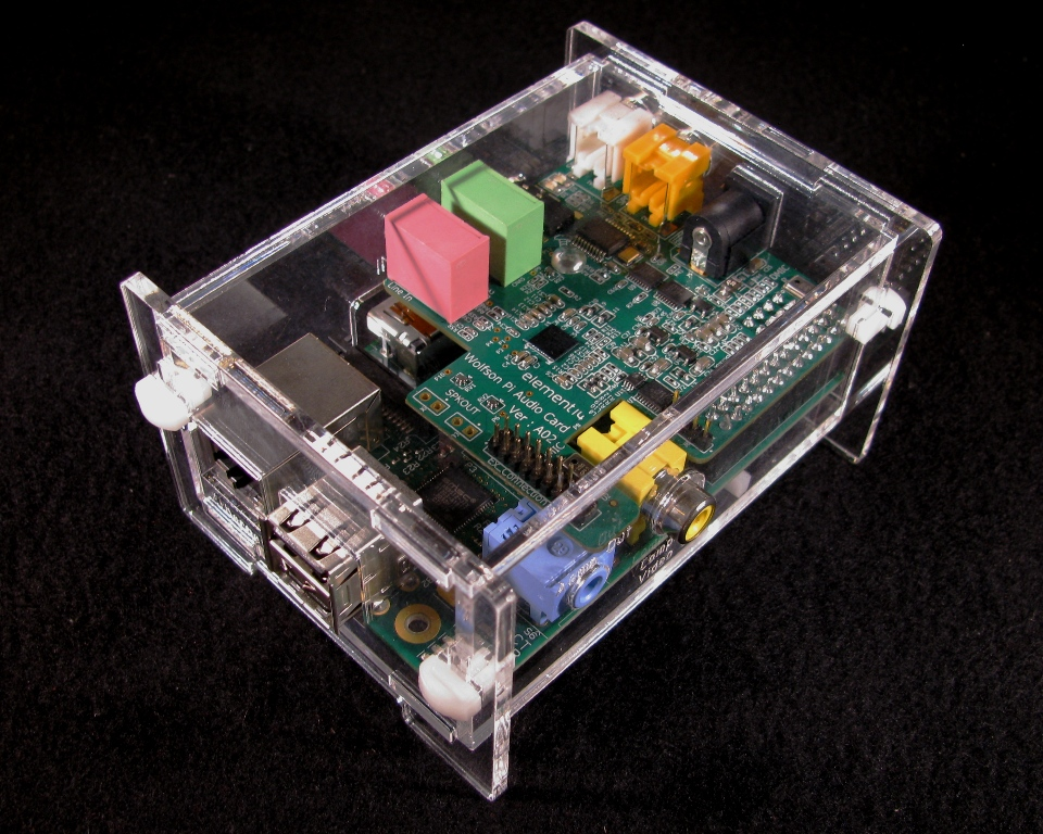 Wolfson Pi Audio Card Case Assembly Instructions | Built to Spec